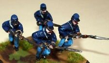 SGTS MESS US2 1/72 Die-Cast WWII US Union Soldiers Charging with Bayonet-4 Figs