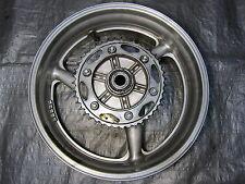 00 01 Honda CBR 929 RR 929RR CBR929RR Polished Rear Wheel with Sprocket Rotor
