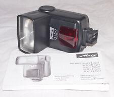 Metz Mecablitz 36AF-4S Digital Flash For Sony Alpha DSLR Cameras