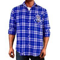 CB Bulldogs NRL 2021 Flannel Shirt Button Up T Shirt Sizes S-5XL!