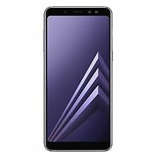 SAMSUNG Galaxy A8 2018 SIM-Free Smartphone (UK Version) Orchid Grey