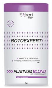HAIR BOTOEXPERT PLASTICA CAPILAR PLATINUM BLOND MIRACLE TREATMENT 1KG