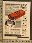 1950 TOY AD VEHICLE AUTO ELECTRIC REMOTE MOTOR POWERMATIC MORMAC CLEVELAND TK28