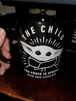 the mandolorian baby yoda the child coffee mug 20 oz cup starwars new disney