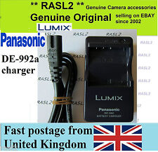 Genuine Panasonic Lumix d-e992 Caricatore CGA-S004 dmw-bcb7 DMC-FX2 DMC-FX7