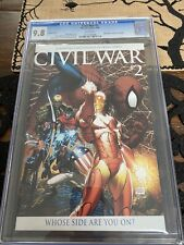 civil war 2 variant CGC 9.8