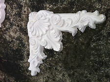 Corner Wall Rose Architectural French Ornate Decoration Plaster  #9
