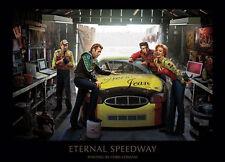 ETERNAL SPEEDWAY by Consani Legends Stock Car Racing James Dean, Marilyn Monroe+