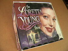 """Nice Complete Box Set 7 VHS Video Tapes """"The Loretta Young Show"""" 6 Hours 1997"""