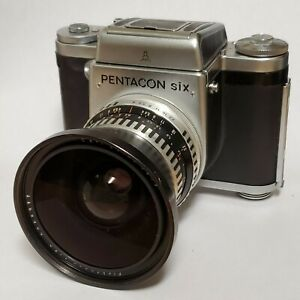 Pentacon Six with 50mm Zeiss Lens - PRISTINE