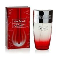 Atomic Perfume for Men EDT Spray by New Brand - 100ml