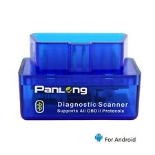 Panlong Bluetooth OBD2 OBDII Car Diagnostic Scanner Check Engine Light for An...