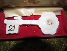 Donegal Parian China 21st Birthday Key With Case