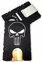 BilletVault Wallet Aluminum RFID protection black anodized USA Tigers Pattern