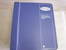 Carrier Hvac Manual Book 4 Commercial Products Performance Data Parts Wiring (1N