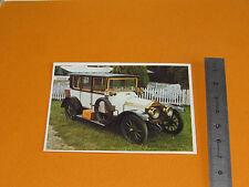 CHROMO CHOCOLAT POULAIN 1976 AUTO VOITURE CONNAISSANCES LORRAINE DIETRICH 1912