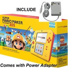 🔥Brand New🔥 Nintendo 2DS Console+Super Mario Maker Game Bundle w/Power Adapter