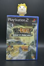 Sony PLAYSTATION PS2 SPIEL Game - Dunit D-unit Drift Racing - OVP TOP ZUSTAND