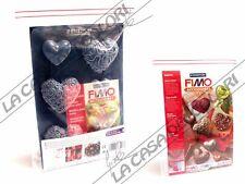 FIMO - STAMPO PER MODELLARE - CUORI - HEARTS