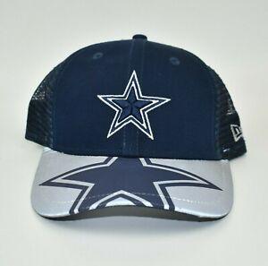Dallas Cowboys NFL New Era 9FORTY YOUTH Reflective Brim Snapback Cap Hat