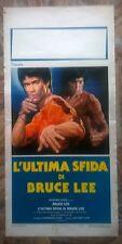 """Locandina film """"L'ULTIMA SFIDA DI BRUCE LEE"""" - Originale 1981"""