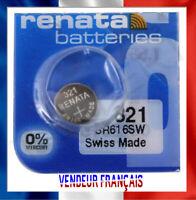 Pile De Montre Renata 321SR616SWQualité Suisse Swiss Renata Batteries battery