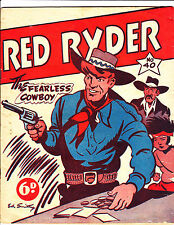 """Red Ryder No 40-1950's - Australian - """"Playing Cards & Poker Chips Cover!  """""""