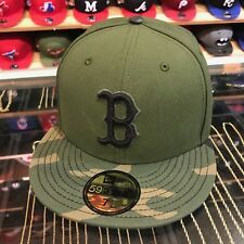 New Era Boston Red Sox 2017 Memorial Day Fitted Hat Green/Camo
