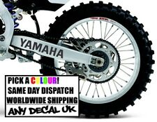 2x YAMAHA YZ Swing arm fork Sticker decal DT125 WR WRF YZF 250 450 DTX YZ125 400