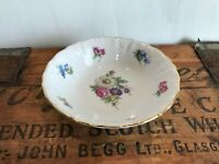 "Winterling Fine China Flower Garden Gold Trim Bavaria Germany 5"" Dessert Bowl"