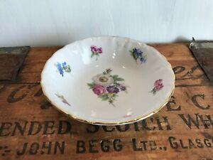 "Winterling Fine China Flower Garden Gold Trim Bavaria Germany 5"" Dessert Bowl"