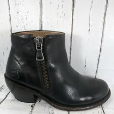 John Fluevog The Hi Living Anderson Black Leather Boot Women 7 Well Maintained
