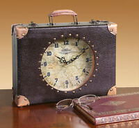 Time Travel Suitcase-Shaped Mantle Clock