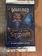 Warlord Saga Of The Storm CCG Eye Of The Storm 1 Booster Pack