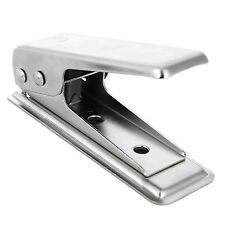 Nano SIM Cutter Punch - With SIM and Micro SIM Adapter for iPhone Samsung HTC LG