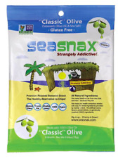 Keto snacks: SeaSnax Classic 5 Sheets 3 packs (0.3 carbs)