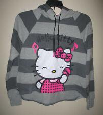 Women's / Juniors Hello Kitty Hoodie Buddie MP3 Playing Sweatshirt Earbuds Small