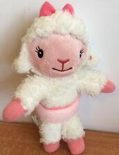 "Disney Doc McStuffins Plush Lambie Lamb Sheep Ballet Tutu Stuffed Toy 9"" License"