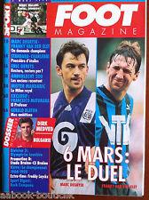 FOOT Magazine du 2/03/1994; JDirk Medved/ Marc Degryse - Franky Van Der Elst