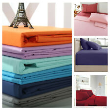 Egyptian Comfort 1800 Count Deep Pocket 4 Piece Sheet Set Soft Bed Top Sheets