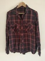 Ladies checked shirt size 14 <w738