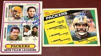 James Lofton fmr. Green Bay Packers NFL Pro football HOF auto autograph card LOT