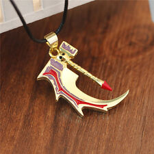 Dota 2 Golden Basher of Mage Skulls Anti-Mage Weapon Model Necklace Pendant Gift