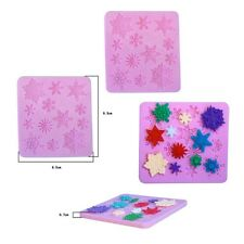 Snowflake Stylist Silicone Fondant Cake Mold Soap Clay Candy Mould Decorating