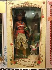 """New Disney Store Moana & Pua Limited Edition LE 16"""" or 17"""" Doll - 1st Release!!!"""
