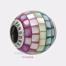 Authentic Pandora Silver Multi-Color Mosaic CZ Bead 797183MPR NEW SUMMER 2018!