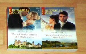 Liebesromane HISTORICAL Gold Band 367 und 368