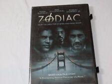 Zodiac DVD 2007 Full Frame Drama Rated R Jake Gyllenhaal Robert Downey JR