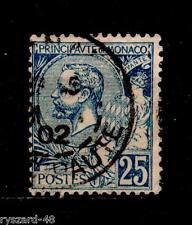 Monaco  1901  -  Mi  25     ( Prince Albert I )