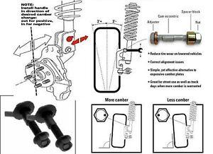 Yugo Front Camber Bolt Kit GV Series NEW